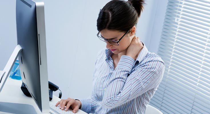Упражнения при сидячей работе для женщин
