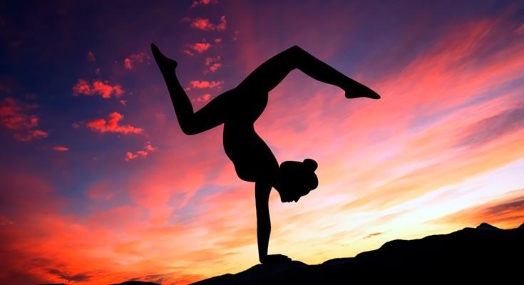 Простая йога для похудения: 5 главных поз | похудение | pinterest.
